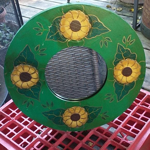 Beautiful handmade Sun flower Mirror